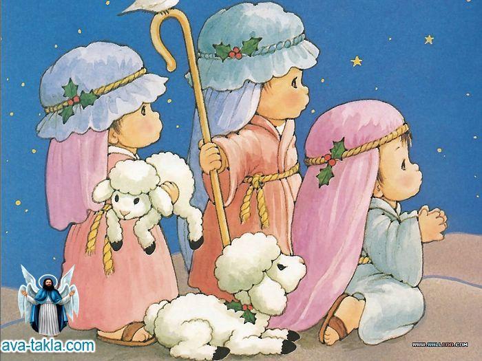 الميلاد مصورة للاطفال رائعة