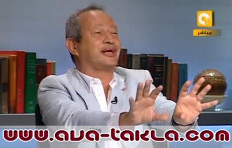 بالفيديو-ساويرس يعتذر للمرة السابعة والشحات
